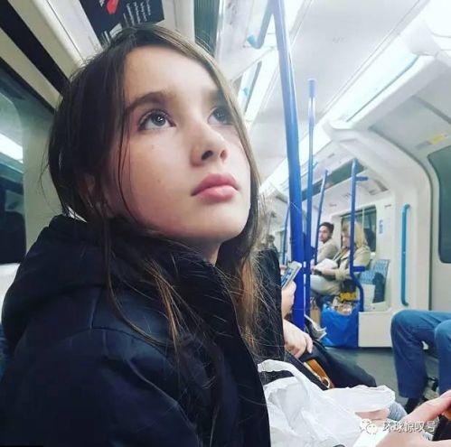 英最高姐妹花:11岁姐姐1.7米3岁妹妹1.1米