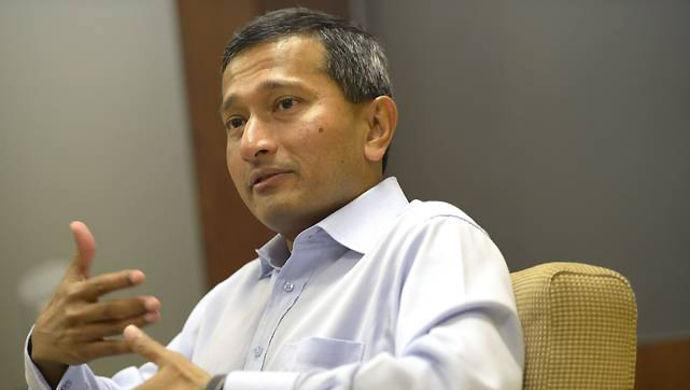 """新加坡外长维文:支持""""一个中国"""""""
