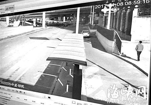 8日上午8点59分,李德意出现在金山大桥头,然后消失