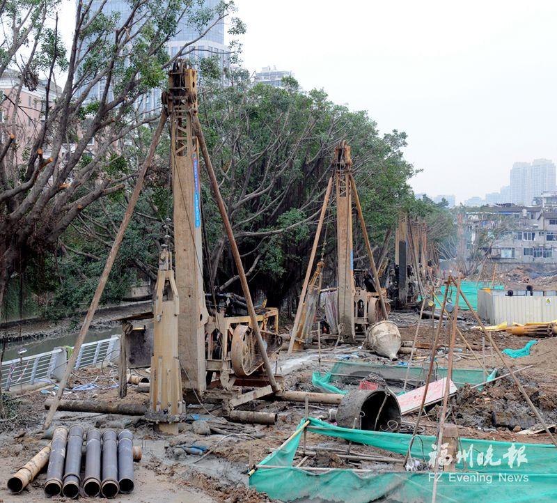 晋安河要拆除5座桥重建3座 桥下过水能力提升