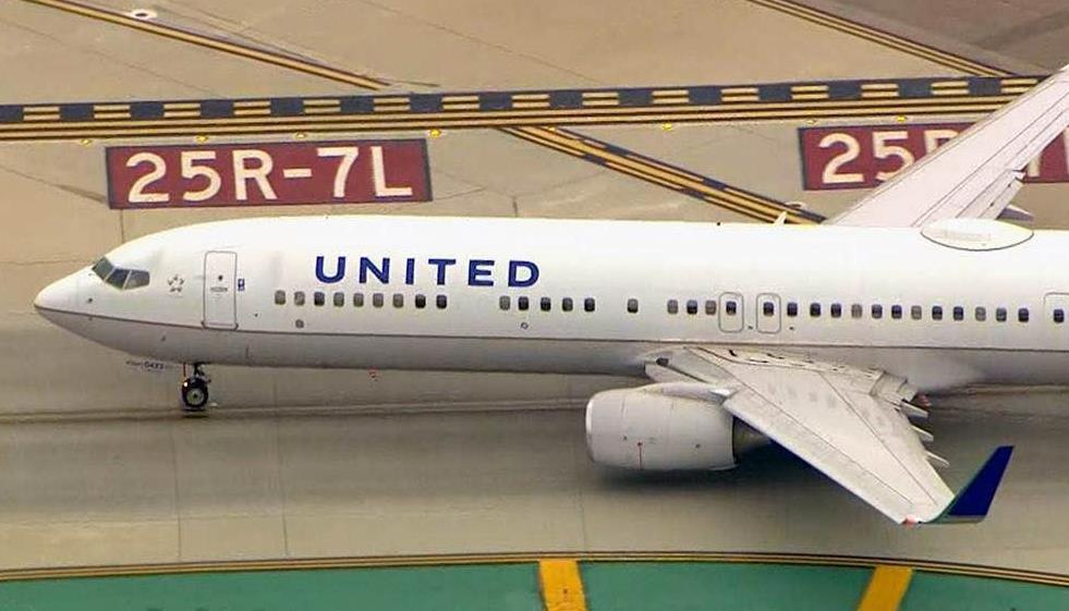 因电脑故障!美联航临时停飞所有国内航班