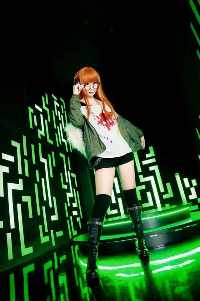 美女玩家cos游戏女主Hiko个人资料 大美腿逆天