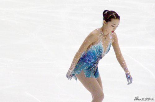 17岁华裔陈楷雯摘全美花样滑冰冠军 陈楷雯个人资料照片