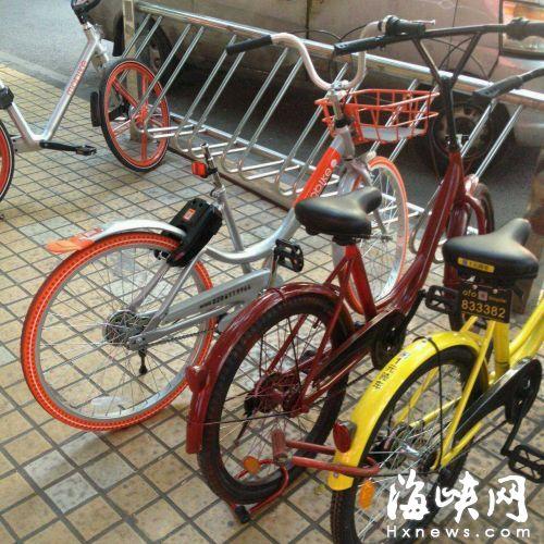 一辆DDbike单车座包被卸。