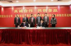 真诚合作共创多赢 中国盐业总公司与福盐集团签署战略合作协议