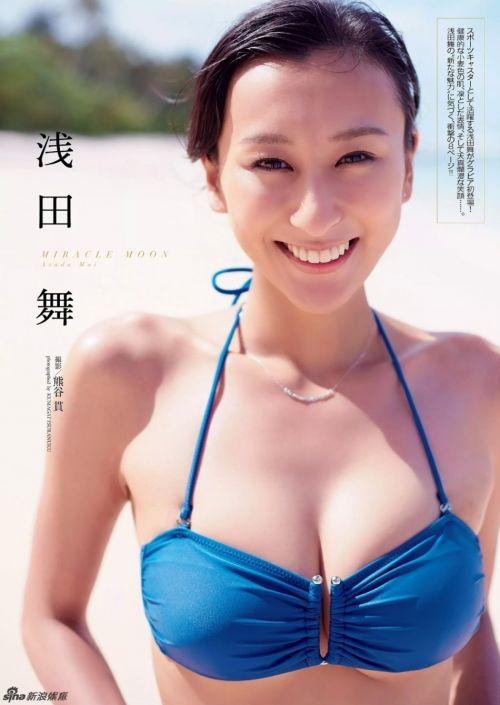 日本花滑尤物浅田舞个人资料 F罩杯的她曾自曝苦恼胸部太大(2)