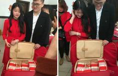 莆田18岁美女订婚 收到288万聘金