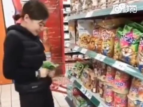 女子快手直播恶意破坏超市商品 结果悲剧了