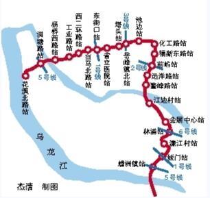 福州地铁4号线走向披露 全线22站