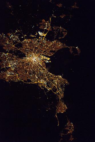 NASA宇航员拍都柏林夜景:灯火流光璀璨 宇航员还拍过什么?