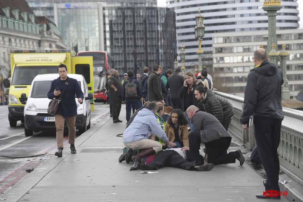 英议会大厦外发生恐袭现场图曝光 嫌疑人被击毙个人资料身份背景
