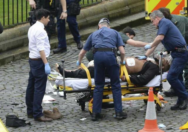 英议会大厦外发生恐袭5死40伤细节 嫌犯是谁?嫌犯照片和凶器曝光