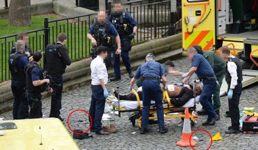 英国议会外发生恐怖袭击 致5死40伤