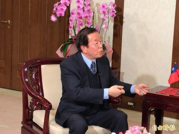 萨德最新消息!无耻!谢长廷竟称保护台湾就是保护日本