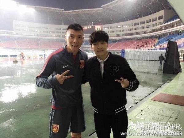 国足1:0战胜韩国队举国同庆 娱乐圈哪些明星发博庆祝了?