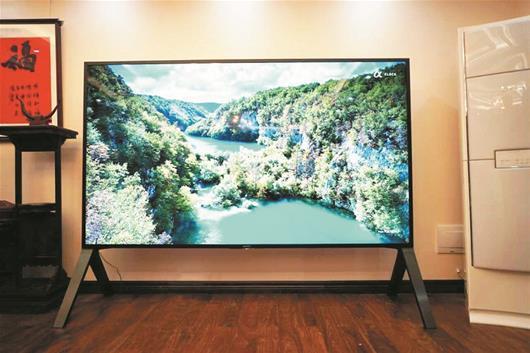 武汉市民50万买全国最大电视 另一台王思聪买走