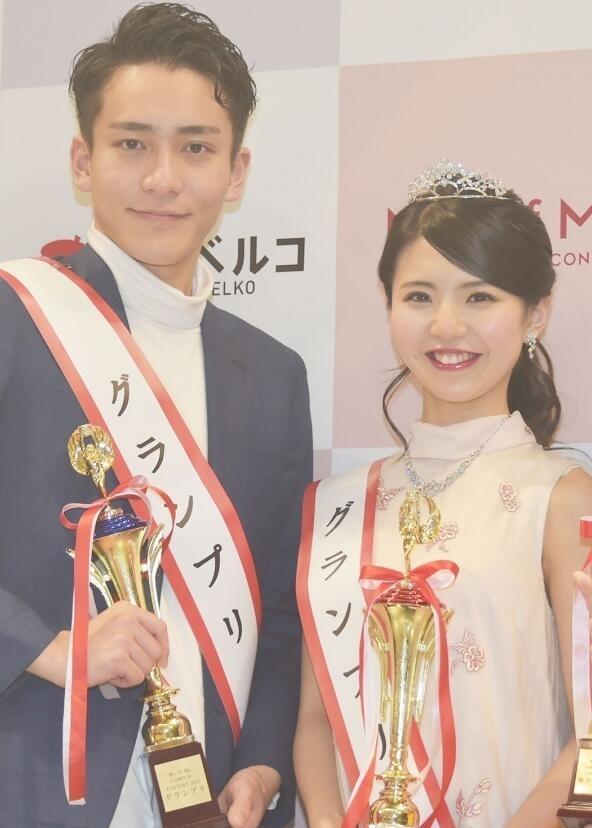日本选出最美女大学生、最帅男大学生:画面太美