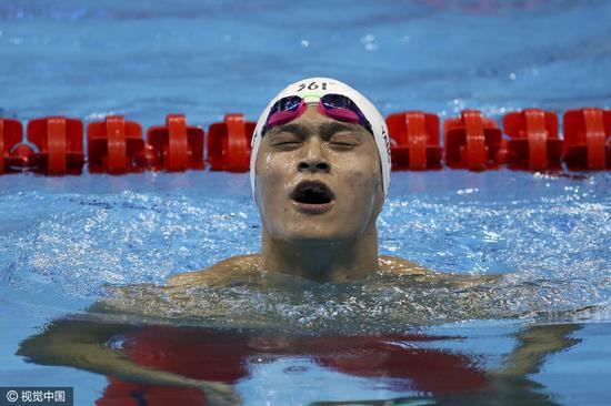 青岛全国游泳冠军赛响锣孙杨游出世界最好成绩