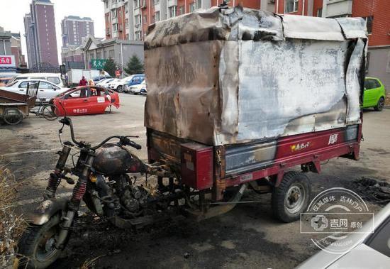 宠物狗被车撞死纵火泄愤 长春市常欣家园小区火灾真相