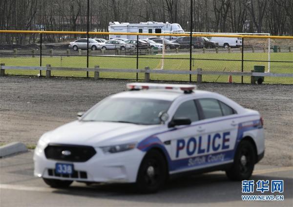 美国纽约州长岛一公园内发现四具尸体 现场图曝光