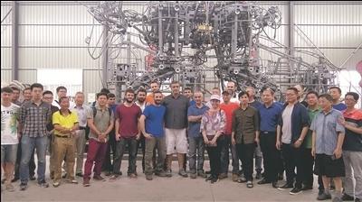 全球最大仿生机器人南通造,下月底在北京公演