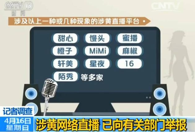 """艳俗直播""""借道""""新闻客户端 涉黄福利直播平台全披露?"""