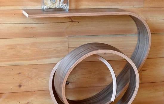弯曲式家具?国外设计师的新式发明让人眼前一亮