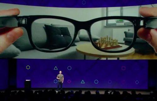 Facebook预测AR眼镜5年后 会比智能手机更流行
