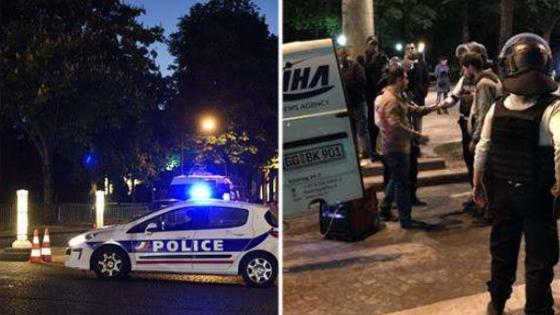 巴黎发生枪击案1死1伤现场图曝光细节揭露:袭击者用机枪扫射