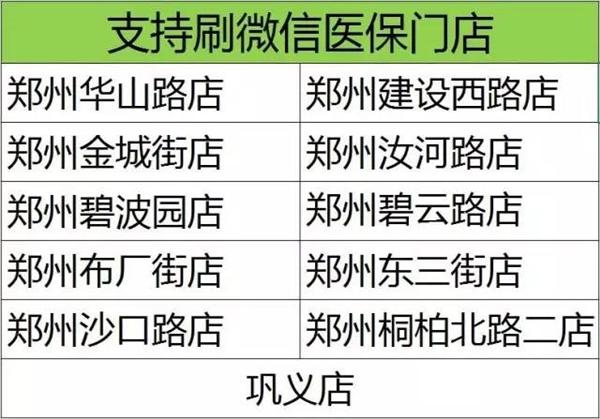 郑州买药太方便:可用微信刷医保卡