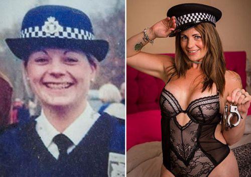 女警官汉娜-哈弗斯(Hannah Havers)转行成脱衣舞女郎月入4万
