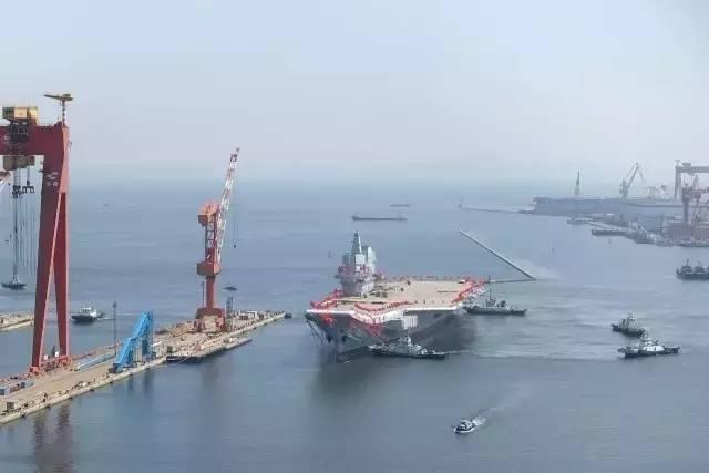 中国首艘国产航母下水 揭秘中国首艘国产航母的雷达装备