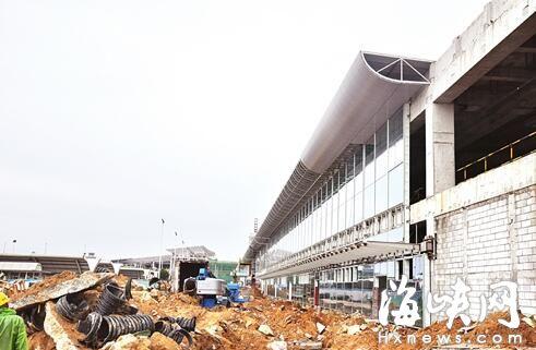 福州机场二轮扩能 北站坪今起投用