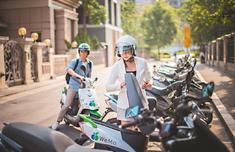 台北街头现共享电动车 或再创Youbike热潮