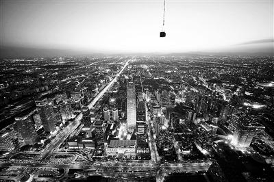 北京新地标中国尊突破500米 预计2018年竣工交付