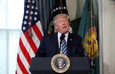 朝鲜半岛最新局势 特朗普:更愿意用和平方式解决朝鲜半岛核问题