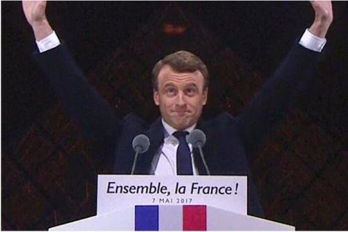 马克龙当选法国总统 马克龙为什么能当选法国总统 马克龙个人资料