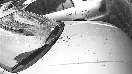 南平:高空抛垃圾砸烂车玻璃 民警通过药单找到肇事者