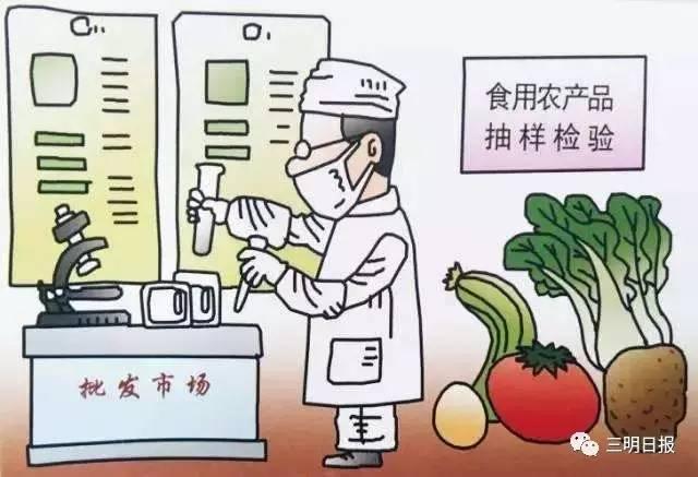 三明农产品首次抽检结果公布 79个样品全部合格