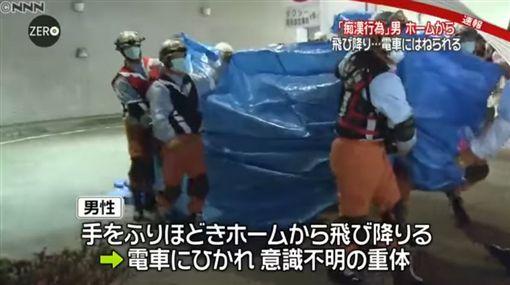 被控是痴汉男子大喊不是我 跳轨逃跑被撞死 为什么痴汉在日本流行