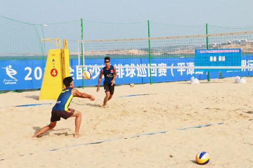 2017年全国沙滩排球巡回赛平潭站18日开赛