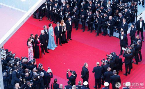 第70届戛纳电影节开幕去参加戛纳电影节的中国明星都小姐女同电影在线观看图片