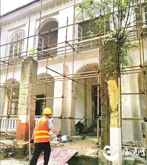 美国领事馆旧址 福州烟台山复兴样本