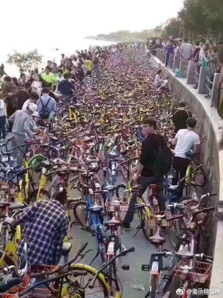 共享单车26号起禁入军事禁区 国外共享单车是怎么管理的?