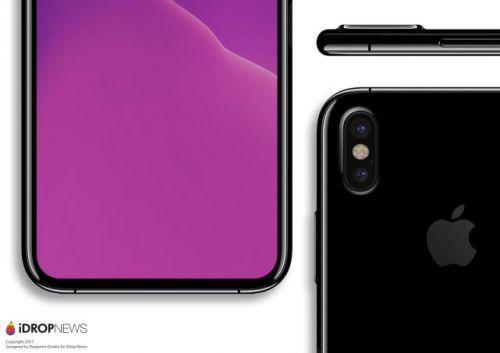 台积电披露iPhone 8三大变革 支持屏幕指纹识别