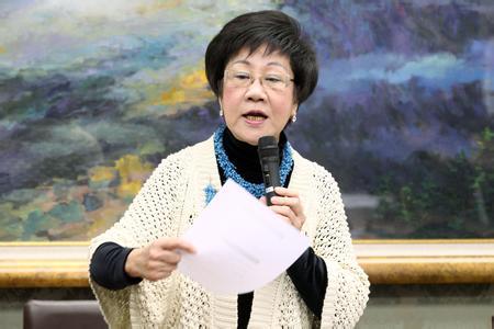 吕秀莲喊话蔡英文:再不努力台湾会亡在你手里