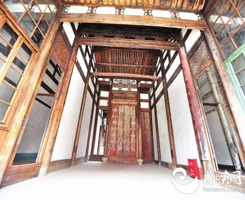 陈兆锵故居的木雕工艺精湛,具有极高的艺术价值