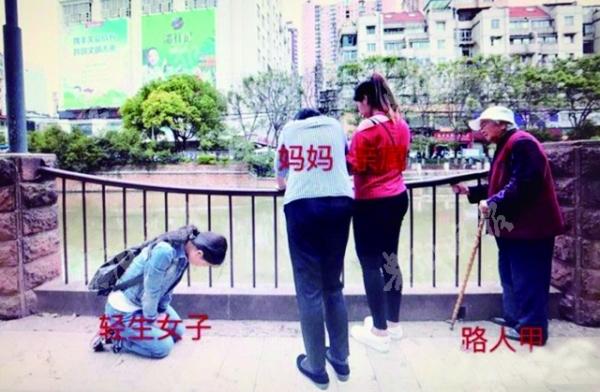 跳江救人小伙王加勇遗体找到 轻生女子跪地祈求原谅(2)