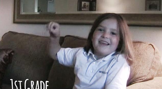 岁月如梭!美国父亲用视频记录女儿成长历程