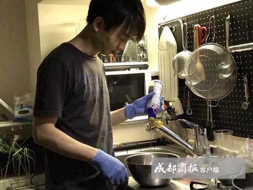 成都小伙网上卖鸡生意爆棚 川味椒麻鸡征服日本人 川味椒麻鸡怎么做?(2)